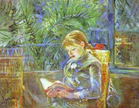 La Lecture (Reading) 1888 | Berthe Morisot | Oil Painting