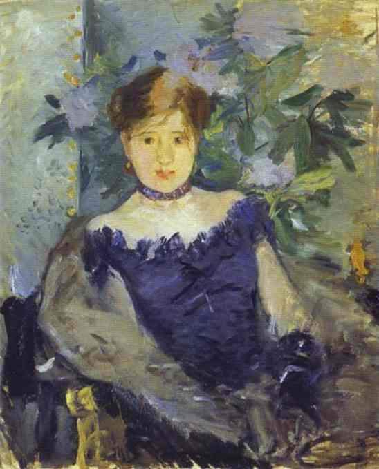 Le Corsage Noir 1876 | Berthe Morisot | Oil Painting