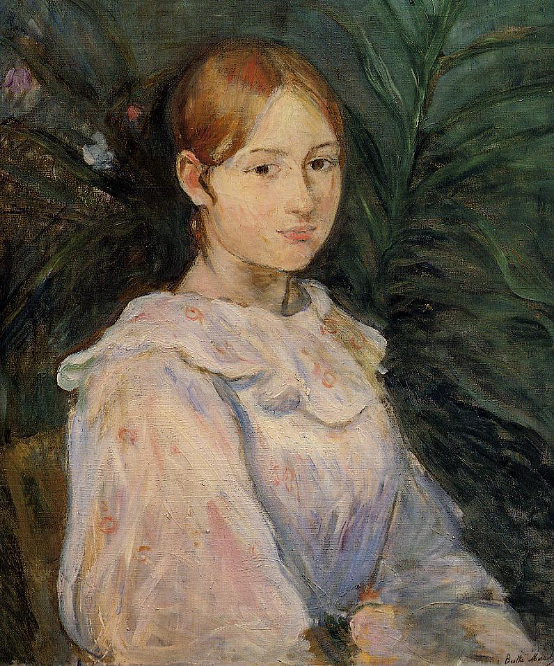 Bust of Alice Gamby 1890 | Berthe Morisot | Oil Painting