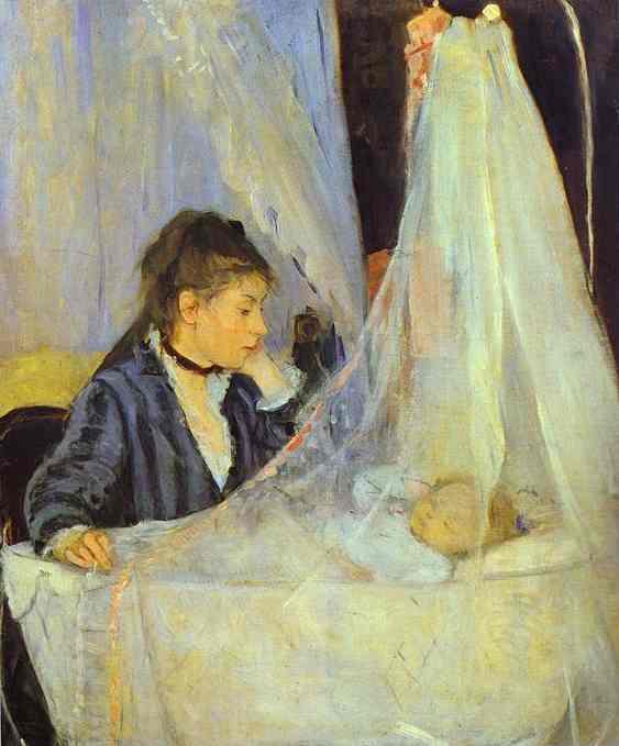 The Cradle 1873 | Berthe Morisot | Oil Painting