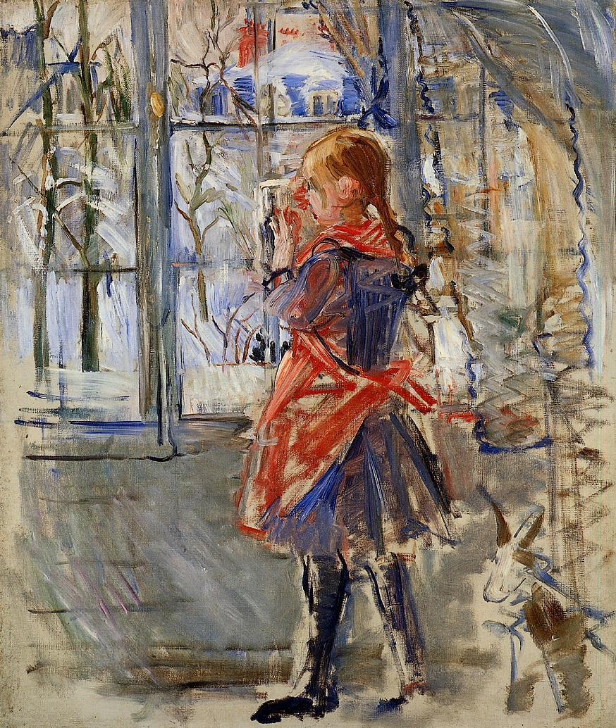 Child with a Red Apron 1886 | Berthe Morisot | Oil Painting