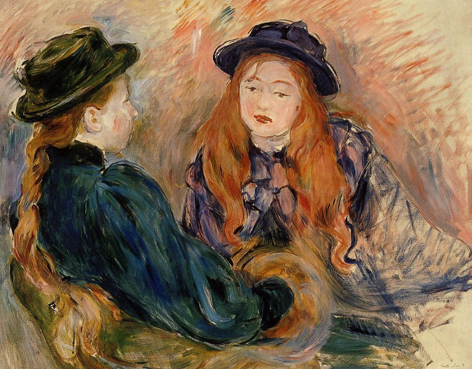 Conversation 1891 | Berthe Morisot | Oil Painting