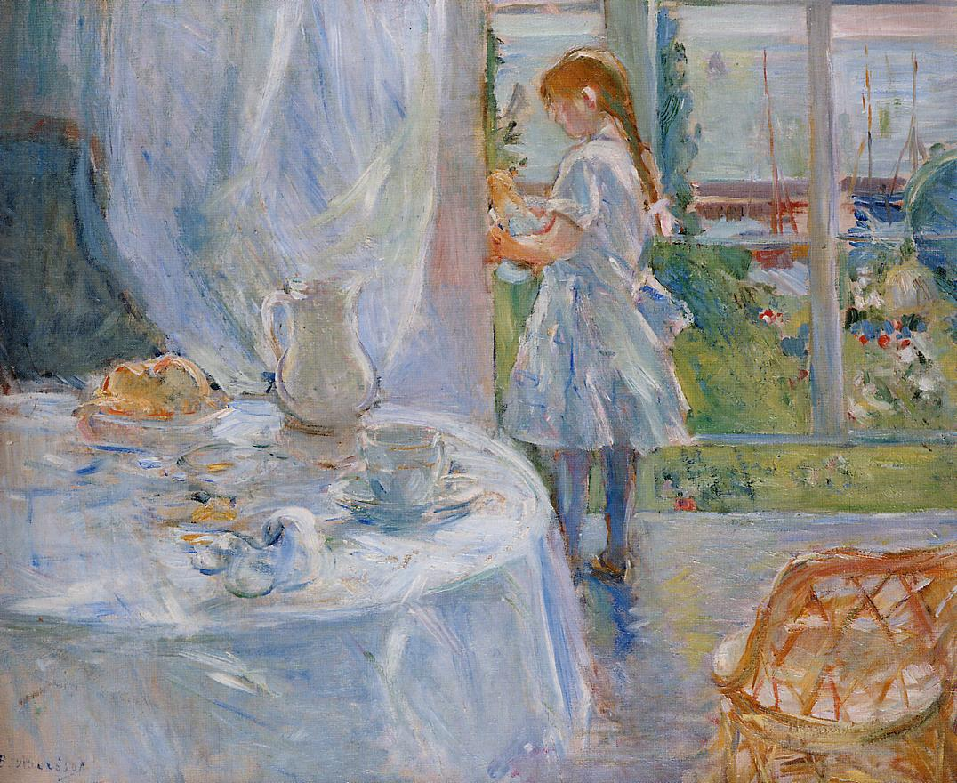 Cottage Interior (aka Interior at Jersey) 1886 | Berthe Morisot | Oil Painting