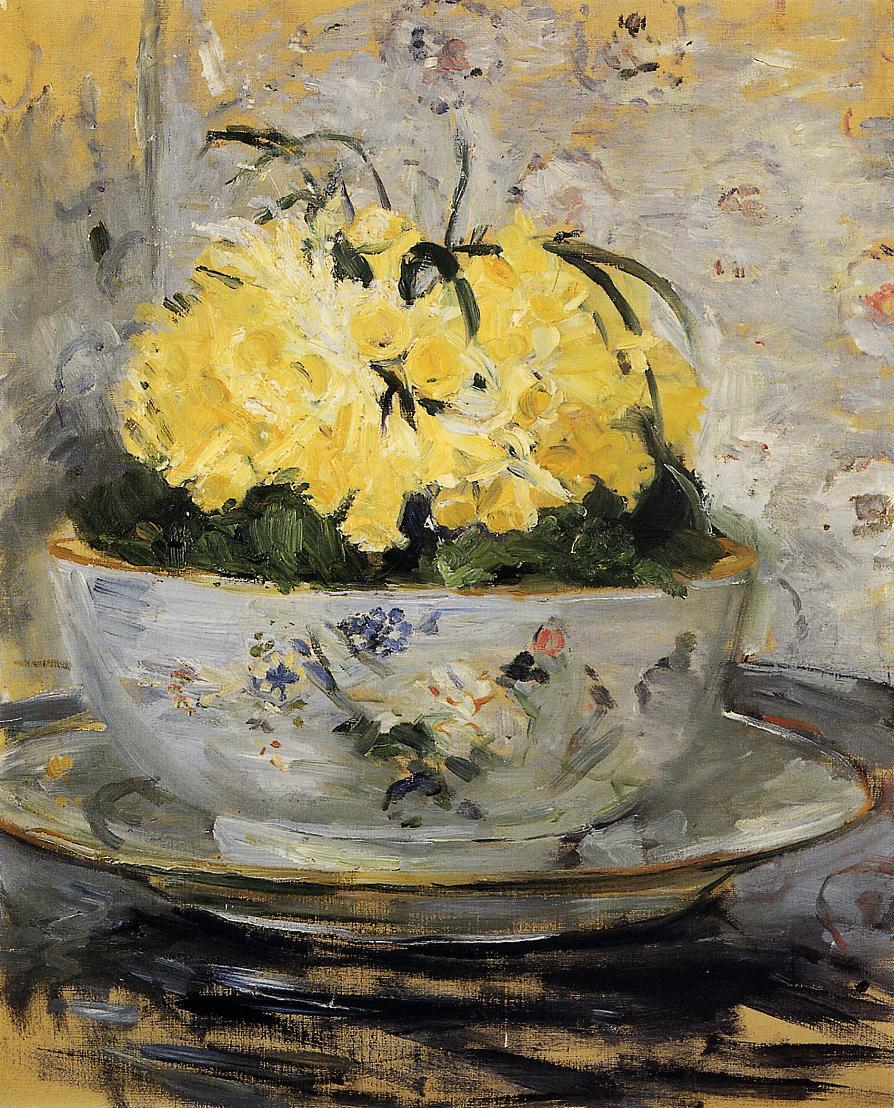 Daffodils 1885 | Berthe Morisot | Oil Painting