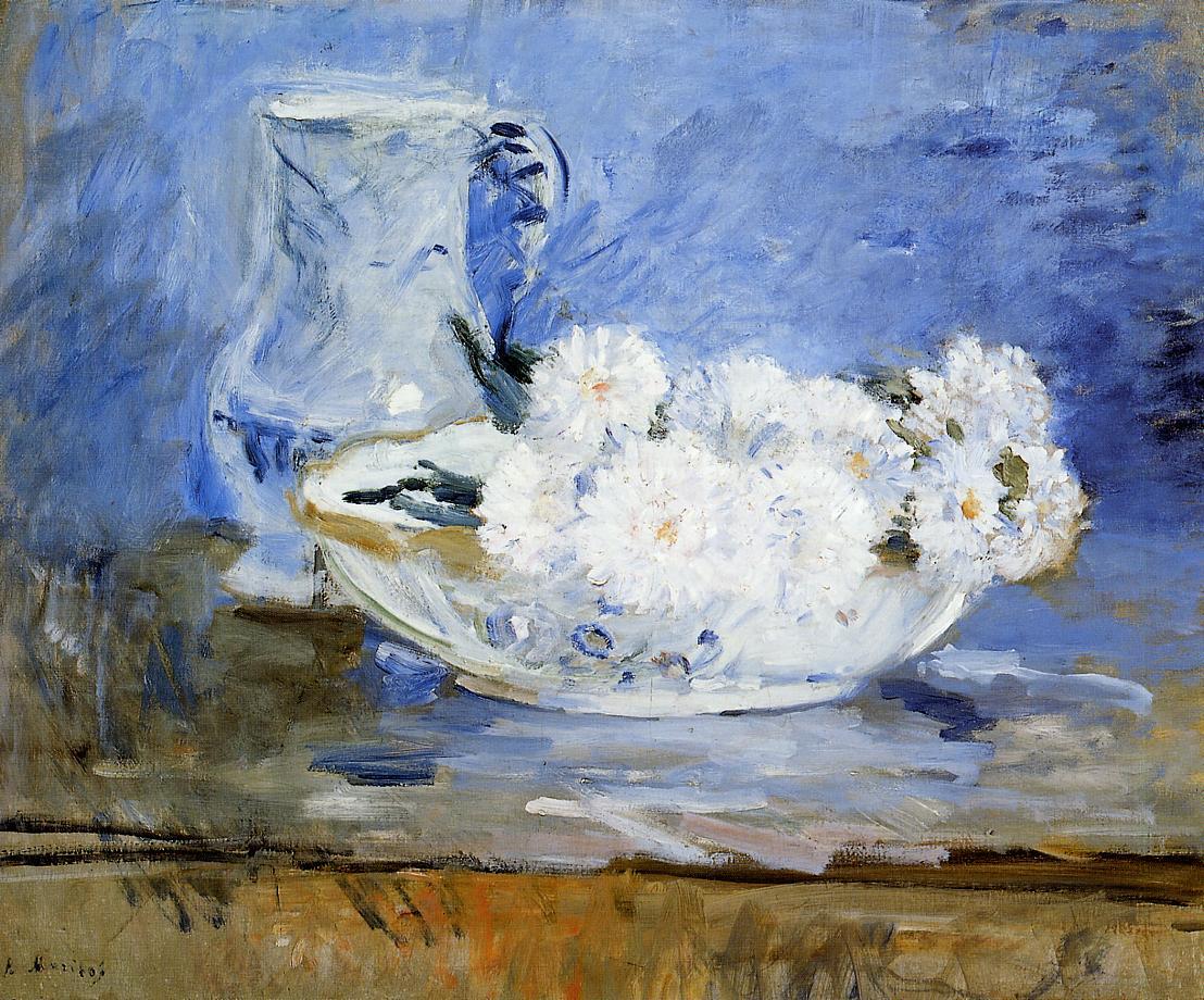 Daisies 1885 | Berthe Morisot | Oil Painting