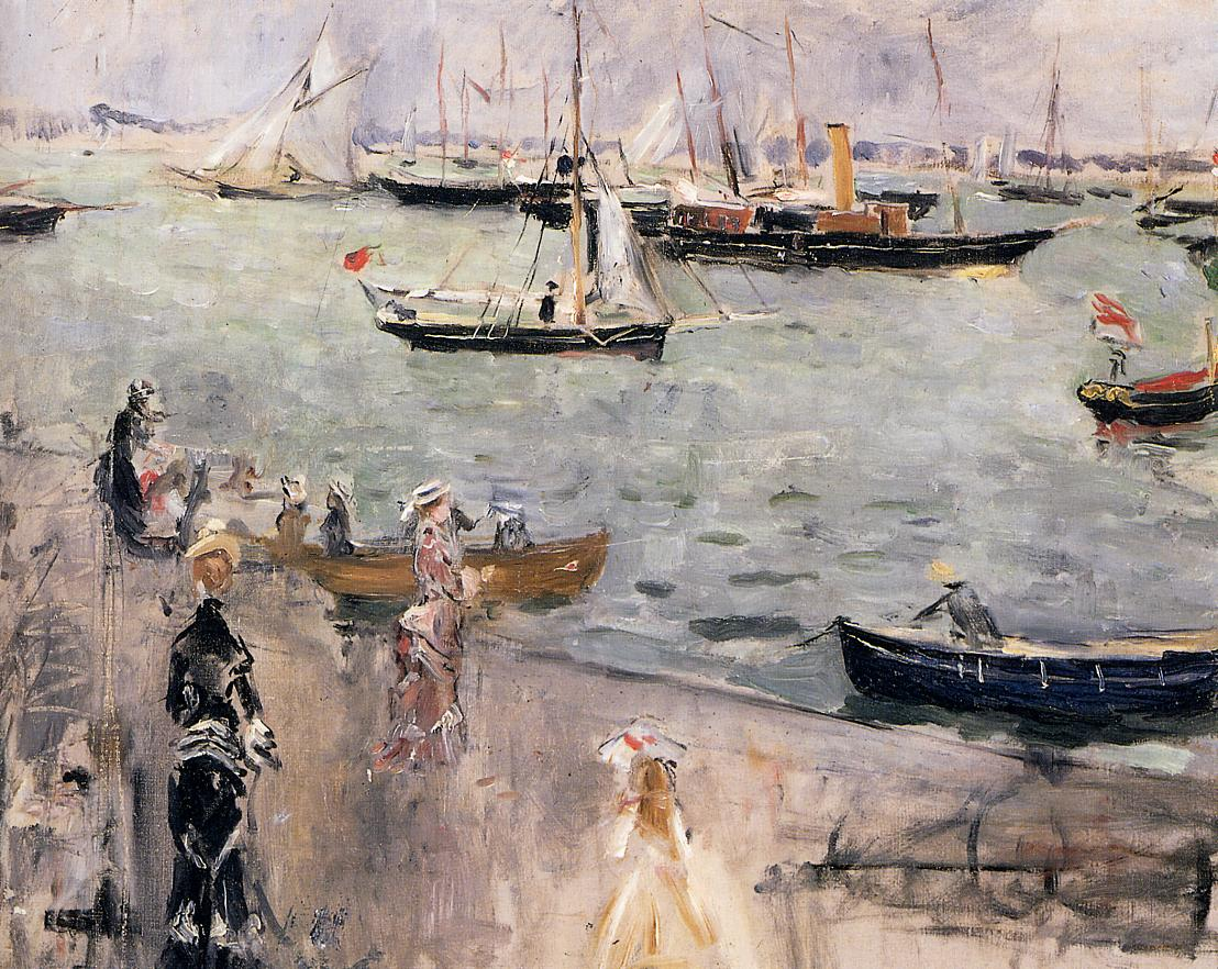 English Seascape1 1875 | Berthe Morisot | Oil Painting