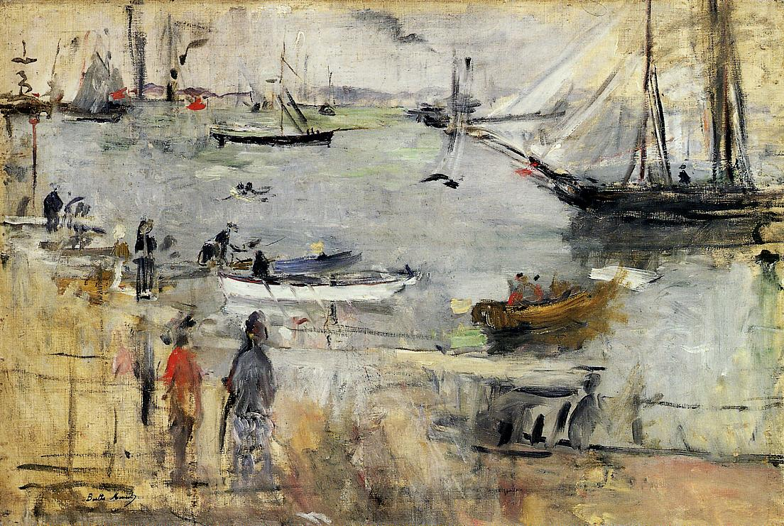 English Seascape2 1875 | Berthe Morisot | Oil Painting