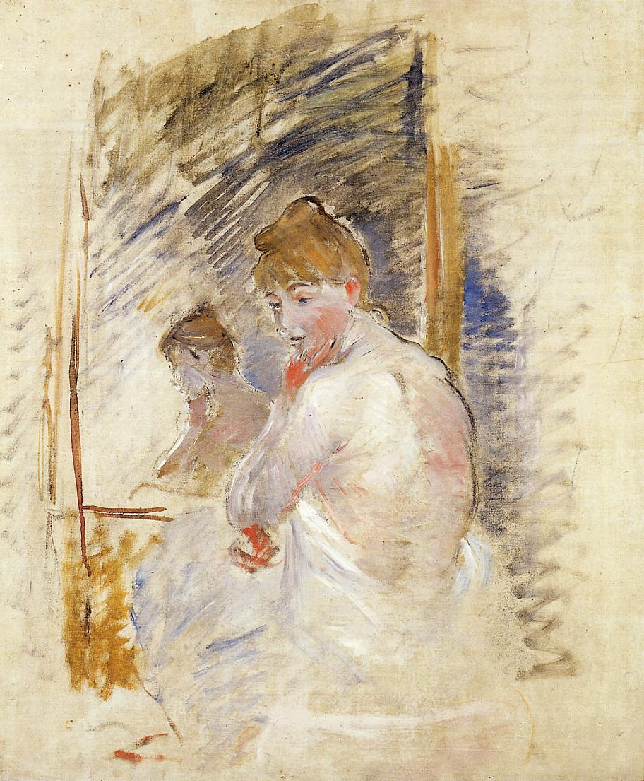 Getting out of Bed 1885-1886 | Berthe Morisot | Oil Painting