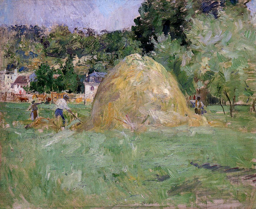 Haymakers at Bougival 1883 | Berthe Morisot | Oil Painting