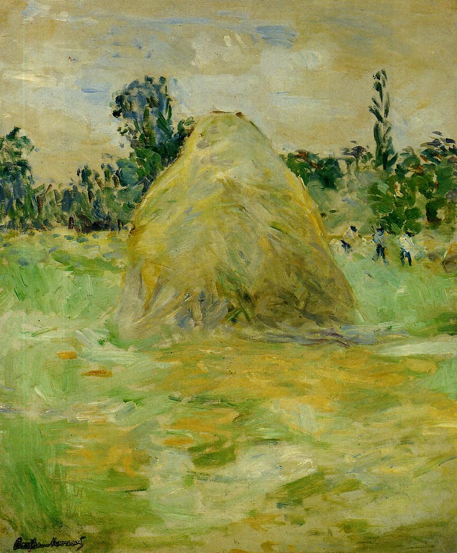 Haystack 1883 | Berthe Morisot | Oil Painting