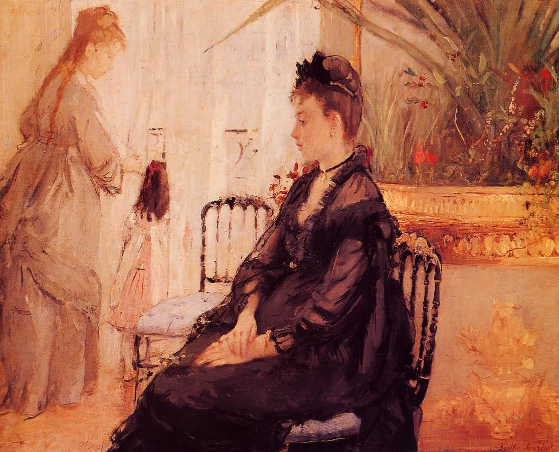 Interior 1872 | Berthe Morisot | Oil Painting