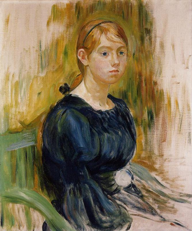 Jeannie Gobillard 1894 | Berthe Morisot | Oil Painting