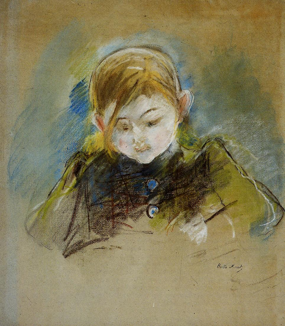 Julie Writing 1884 | Berthe Morisot | Oil Painting