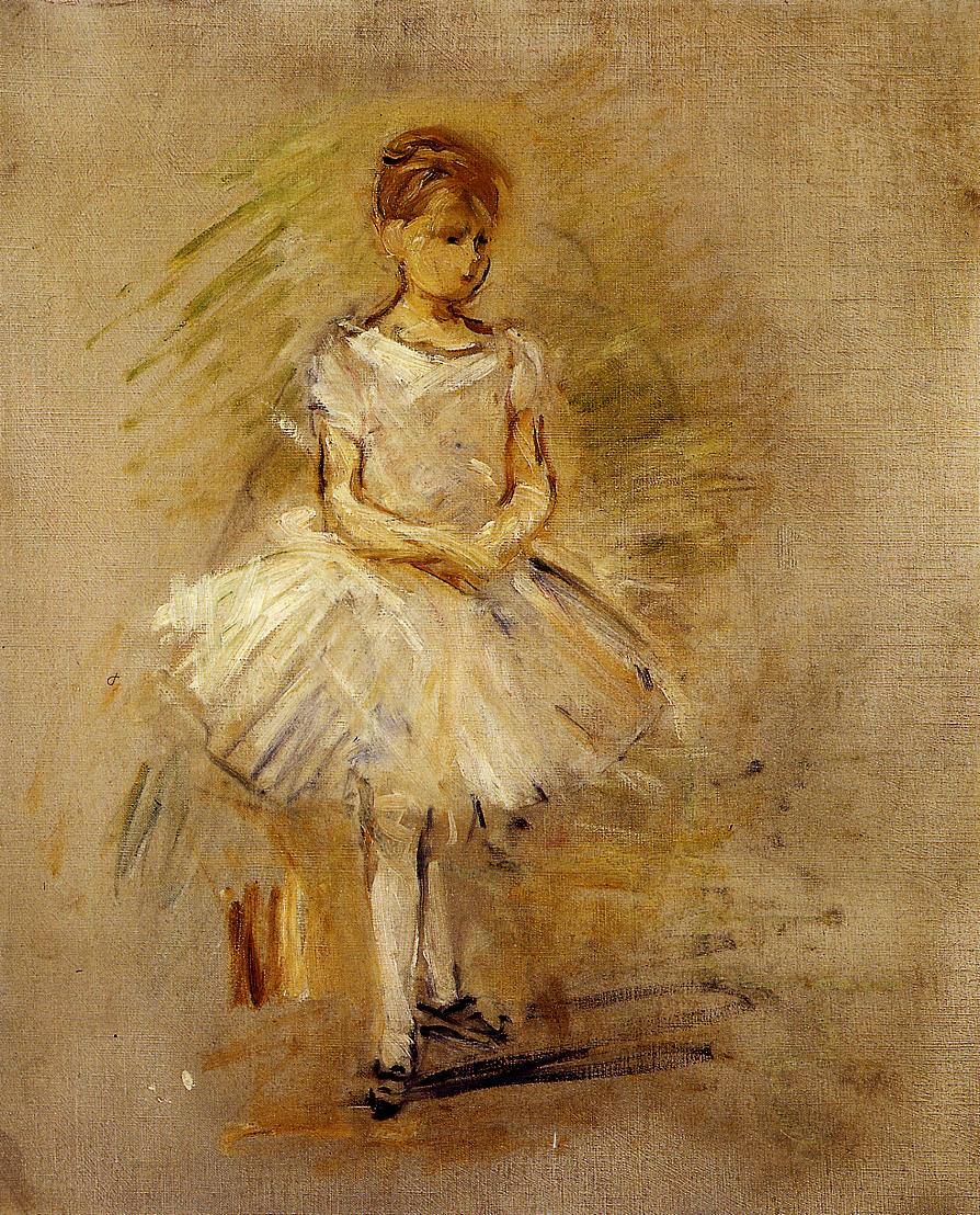 Little Dancer 1885 | Berthe Morisot | Oil Painting