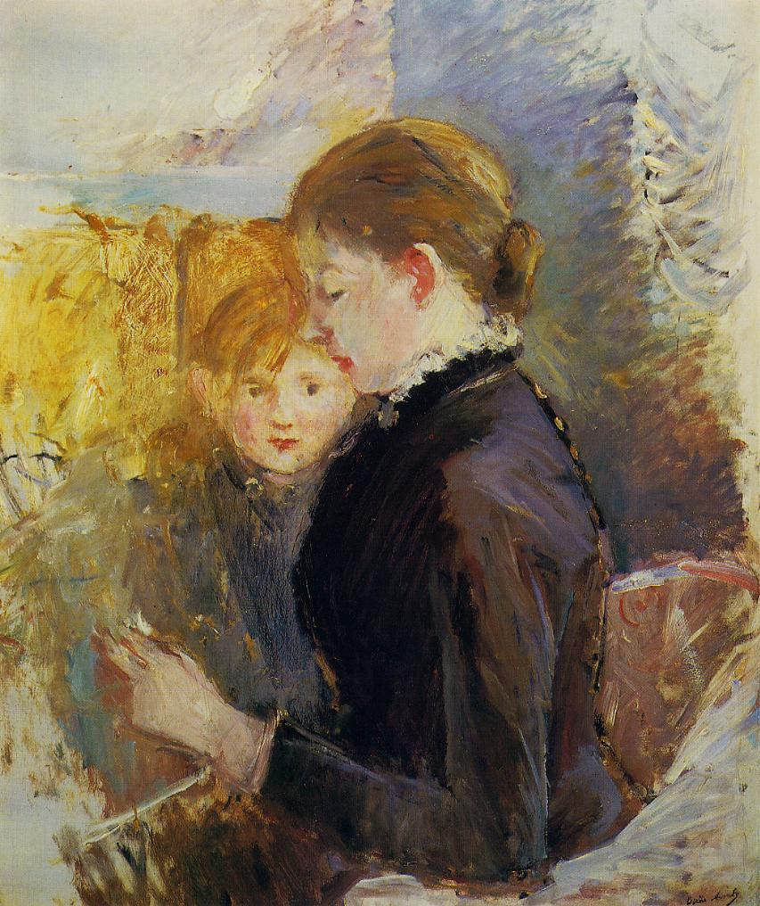 Miss Reynolds 1884 | Berthe Morisot | Oil Painting