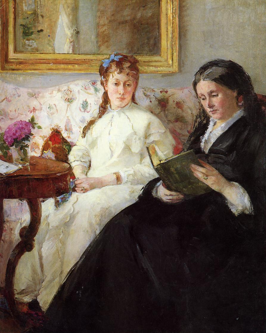 Mother and Sister of the Artist 1869-1870 | Berthe Morisot | Oil Painting