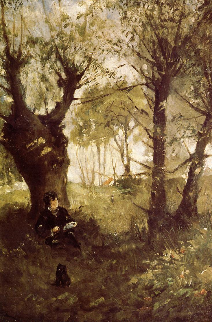Old Path at Auvers 1863 | Berthe Morisot | Oil Painting
