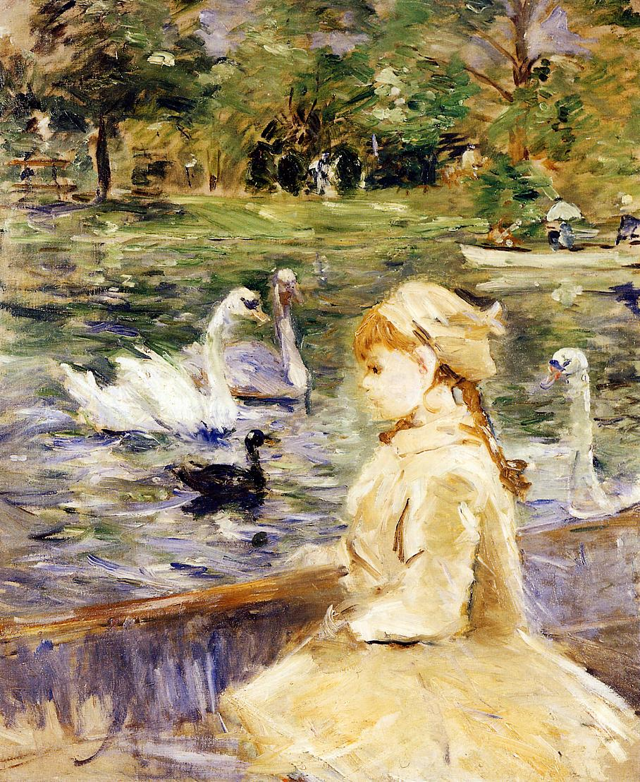 On the Lake 1884 | Berthe Morisot | Oil Painting