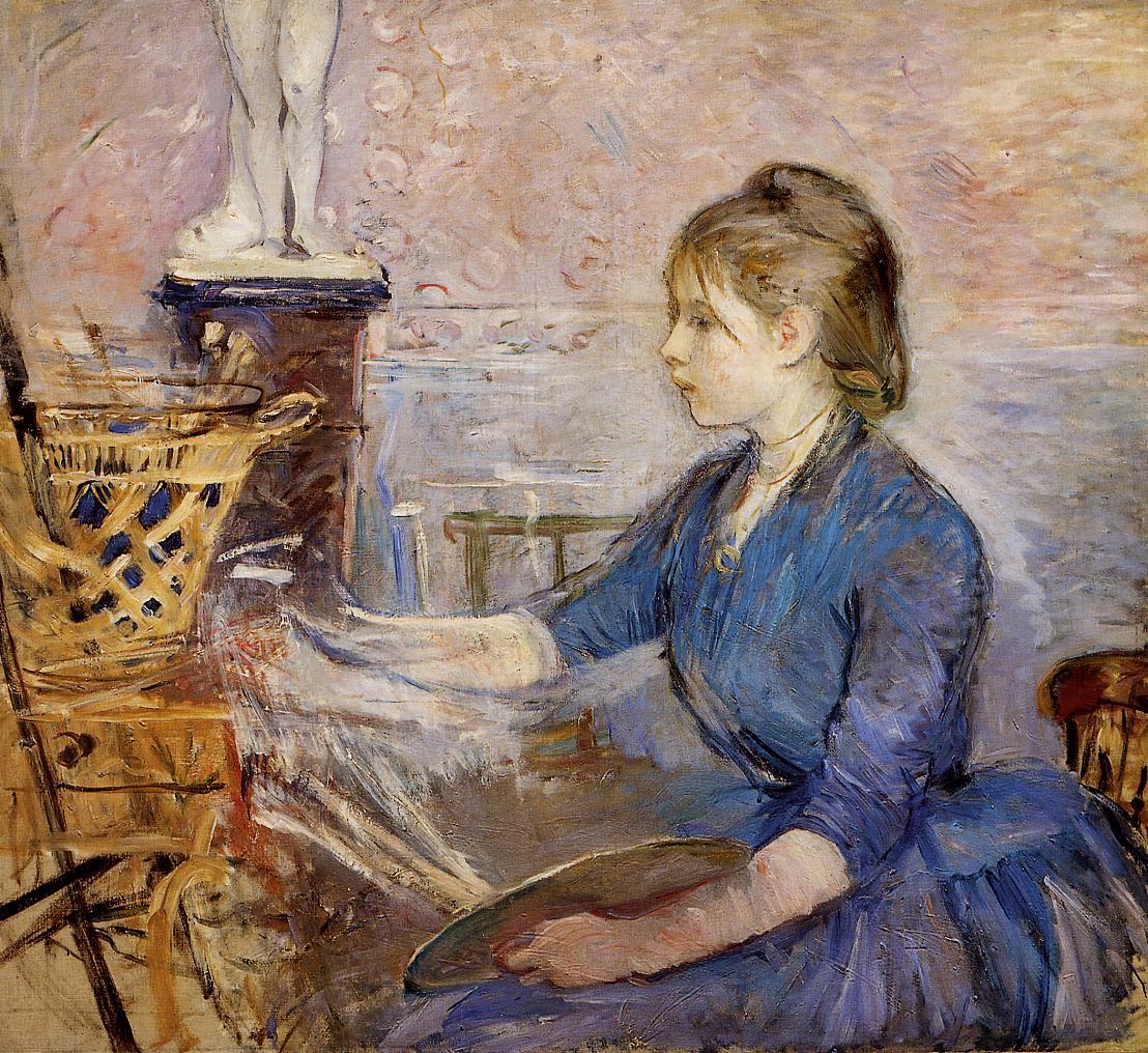 Paule Gobillard Painting 1886 | Berthe Morisot | Oil Painting