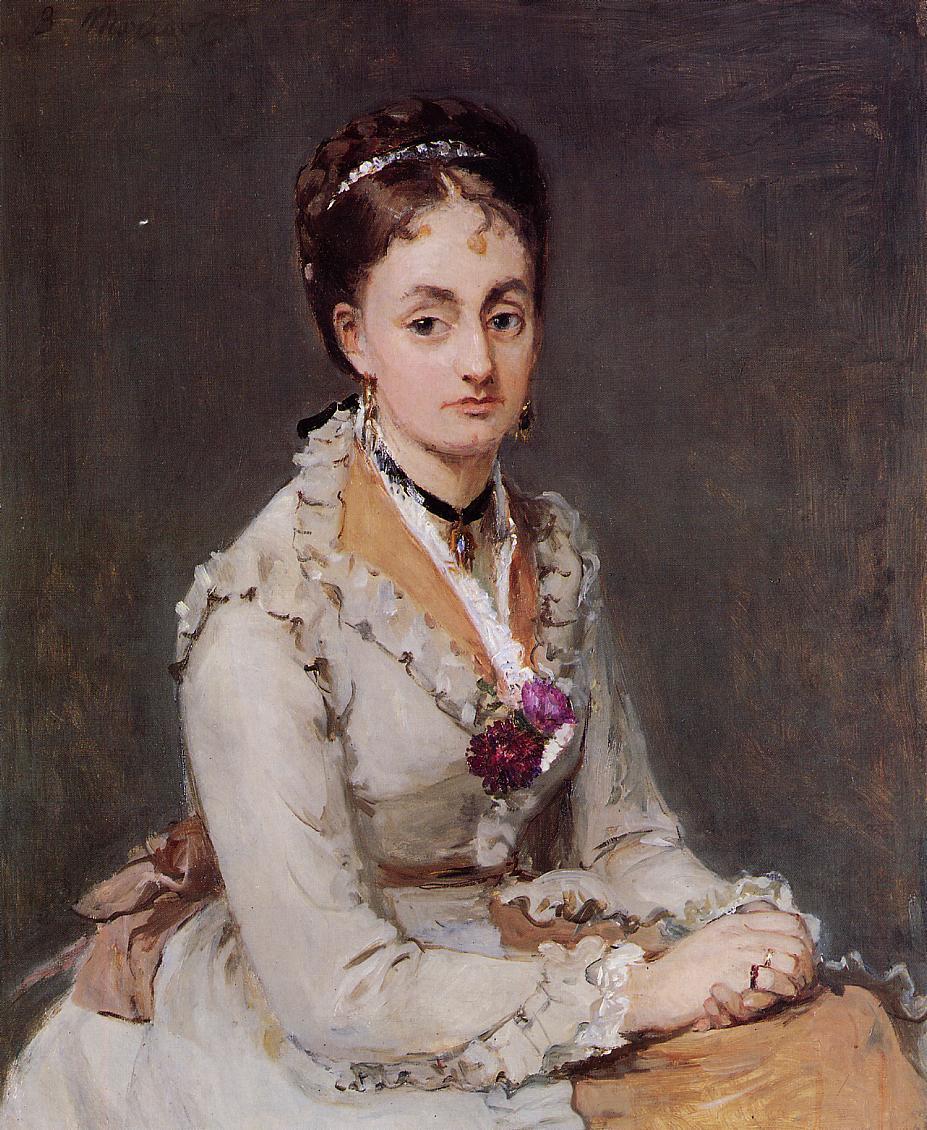 Portrait of Edma 1870 | Berthe Morisot | Oil Painting