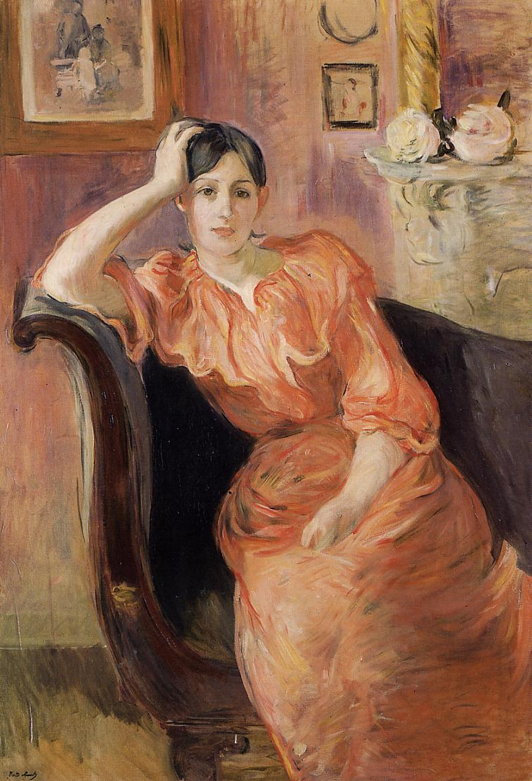 Portrait of Jeanne Pontillon 1894 | Berthe Morisot | Oil Painting