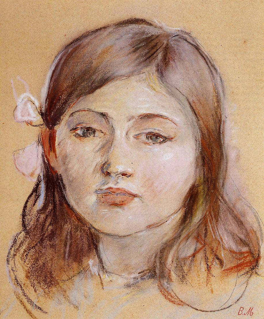 Portrait of Julie 1889 | Berthe Morisot | Oil Painting