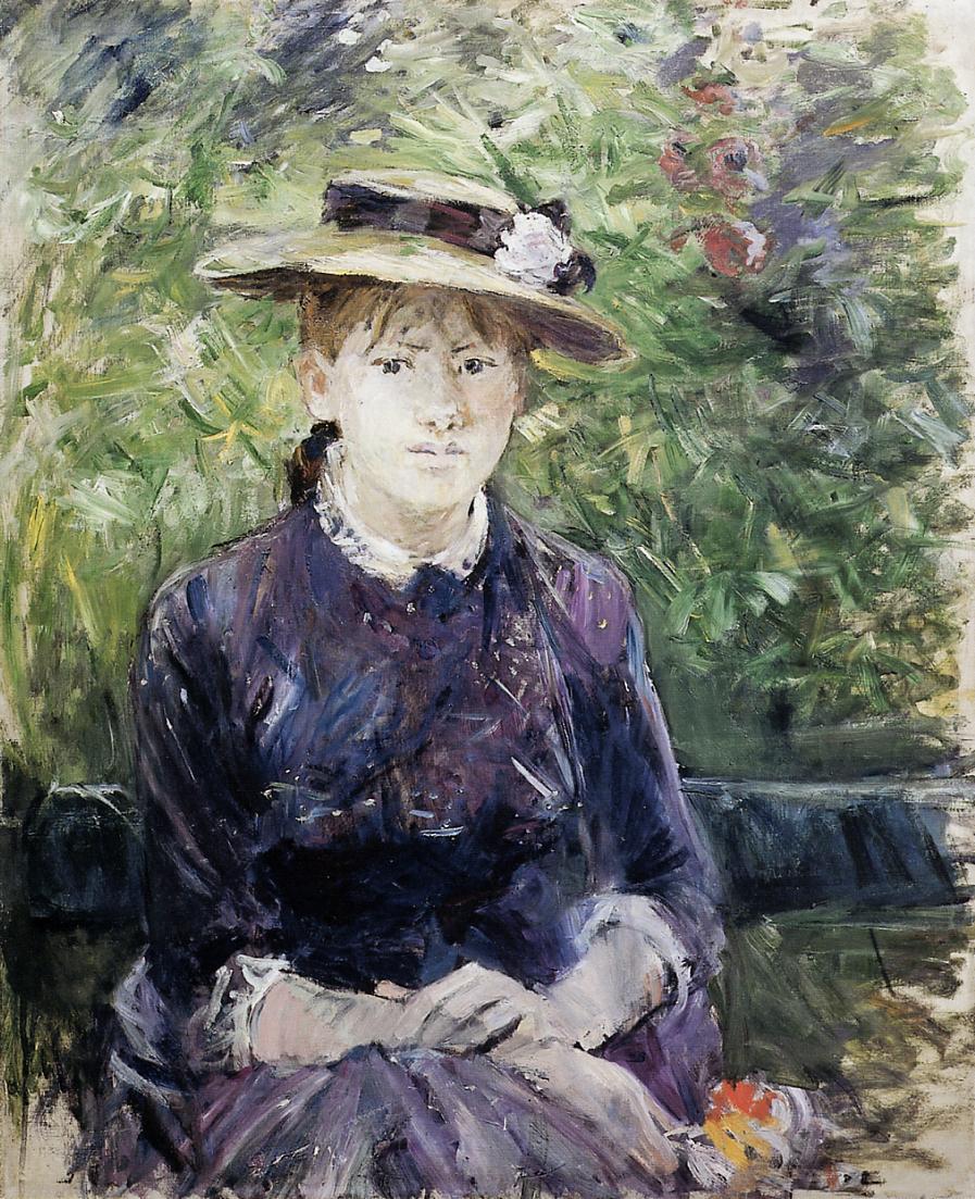Portrait of Paule Gobillard 1884 | Berthe Morisot | Oil Painting