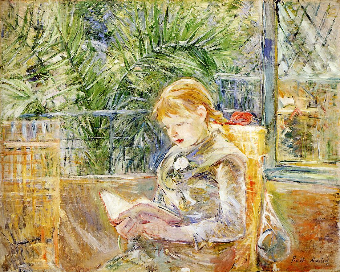 Reading 1888 | Berthe Morisot | Oil Painting