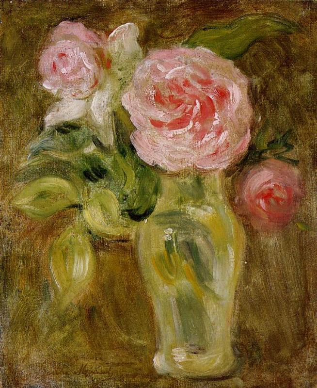 Roses 1894 | Berthe Morisot | Oil Painting