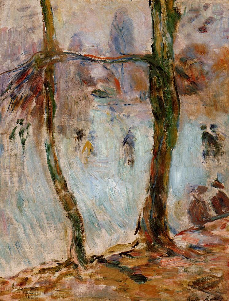 Skating 1893 | Berthe Morisot | Oil Painting