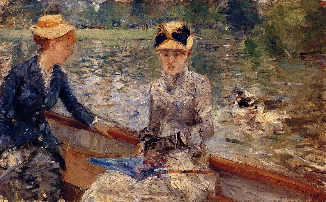 Summers Day 1879 | Berthe Morisot | Oil Painting