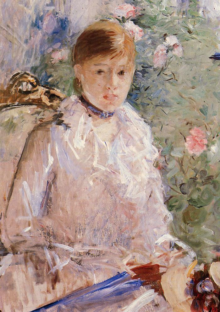 Summer (aka Young Woman by a Window) 1878 | Berthe Morisot | Oil Painting
