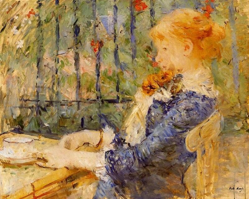 Tea 1882 | Berthe Morisot | Oil Painting