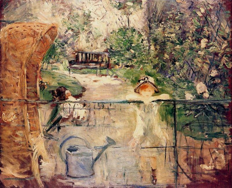 The Basket Chair 1885 | Berthe Morisot | Oil Painting