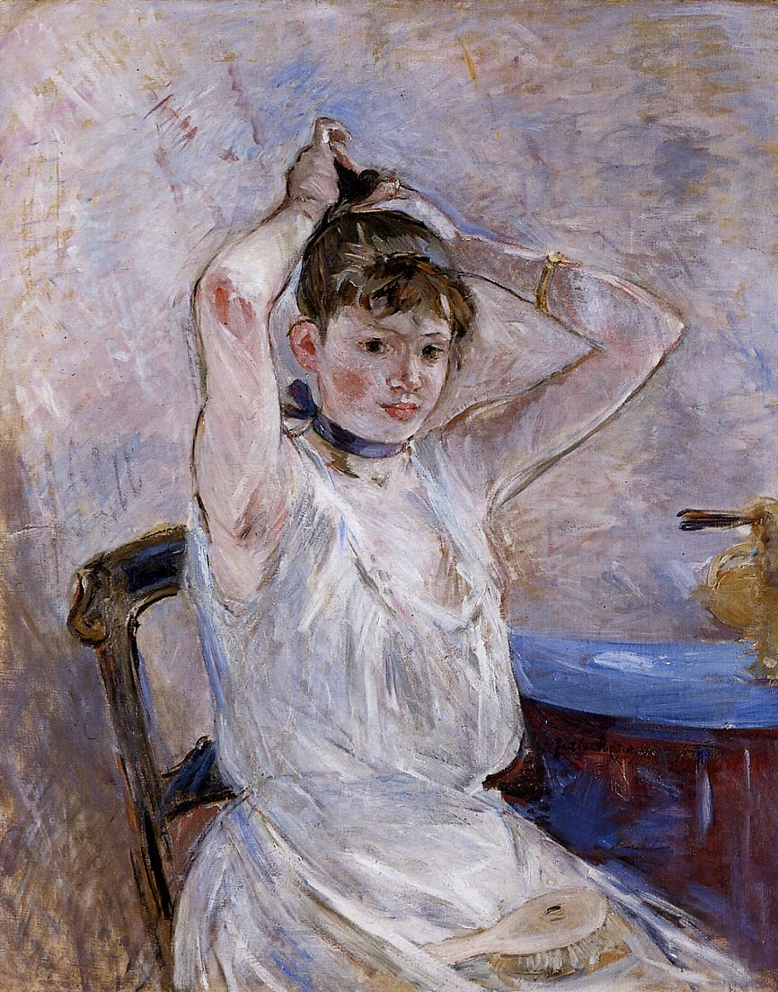 The Bath 1885-1886 | Berthe Morisot | Oil Painting