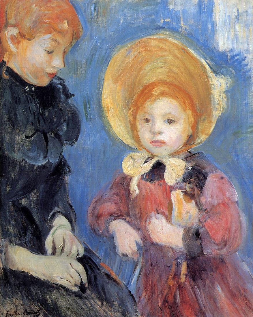 The Black Finger Bandage 1894 | Berthe Morisot | Oil Painting