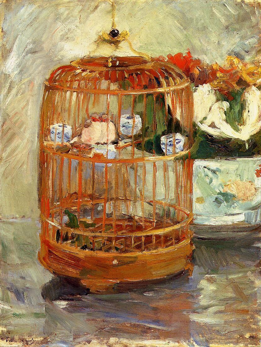 The Cage 1885 | Berthe Morisot | Oil Painting