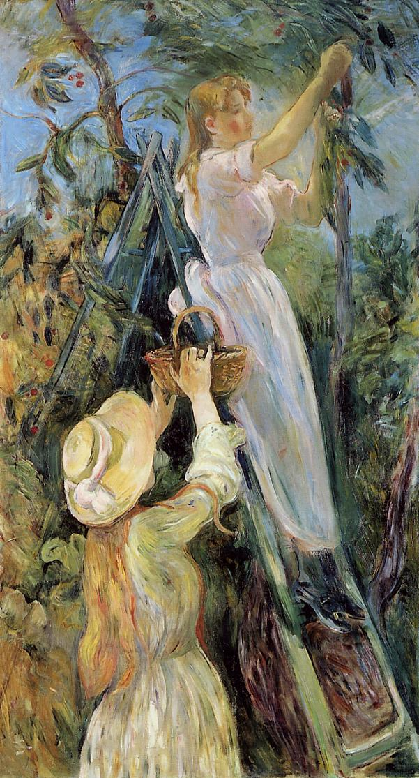 The Cherry Tree 1891 | Berthe Morisot | Oil Painting