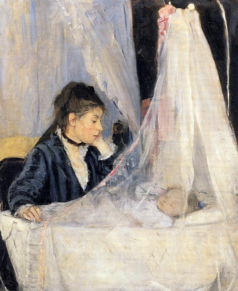 The Cradle 1872 | Berthe Morisot | Oil Painting