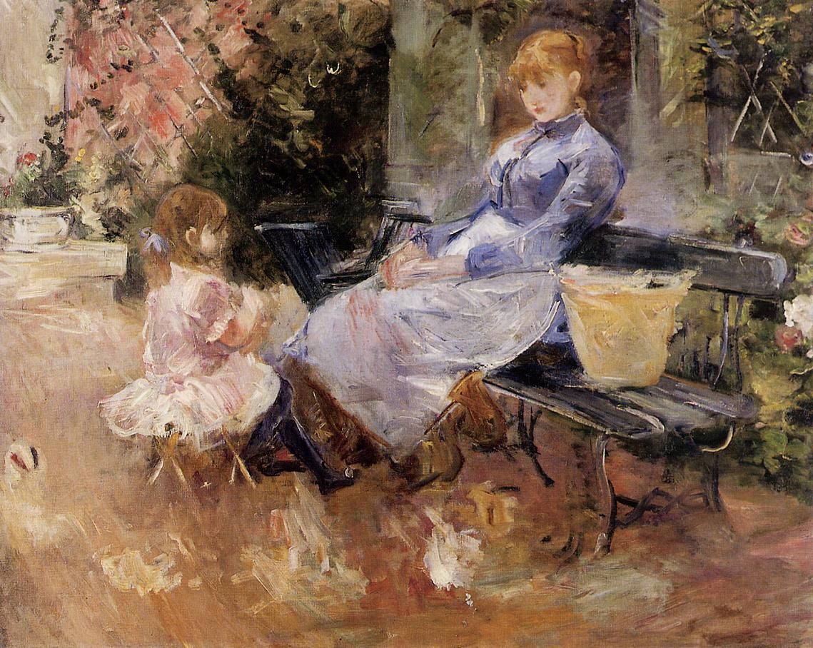 The Fable 1883 | Berthe Morisot | Oil Painting
