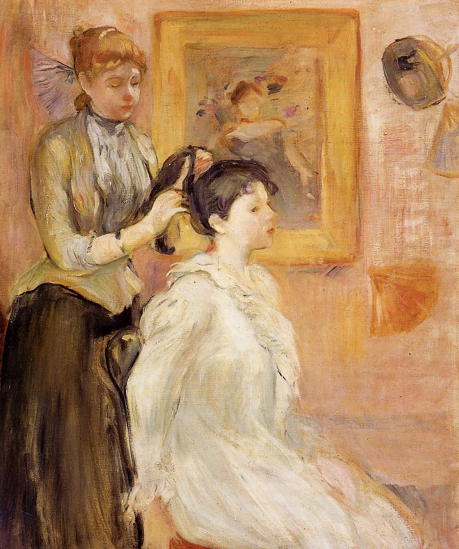 The Hairdresser 1894 | Berthe Morisot | Oil Painting