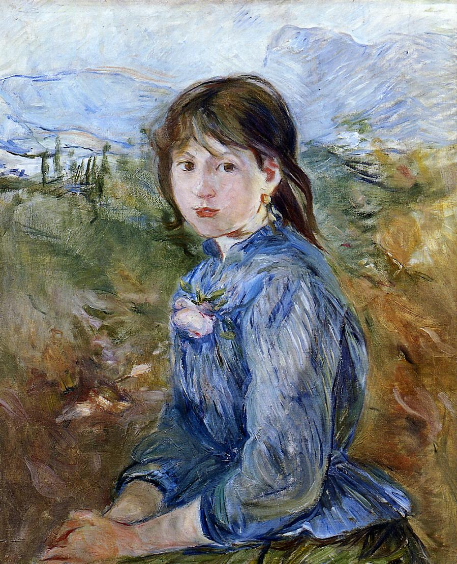 The Little Girl from Nice Celestine 1889 | Berthe Morisot | Oil Painting