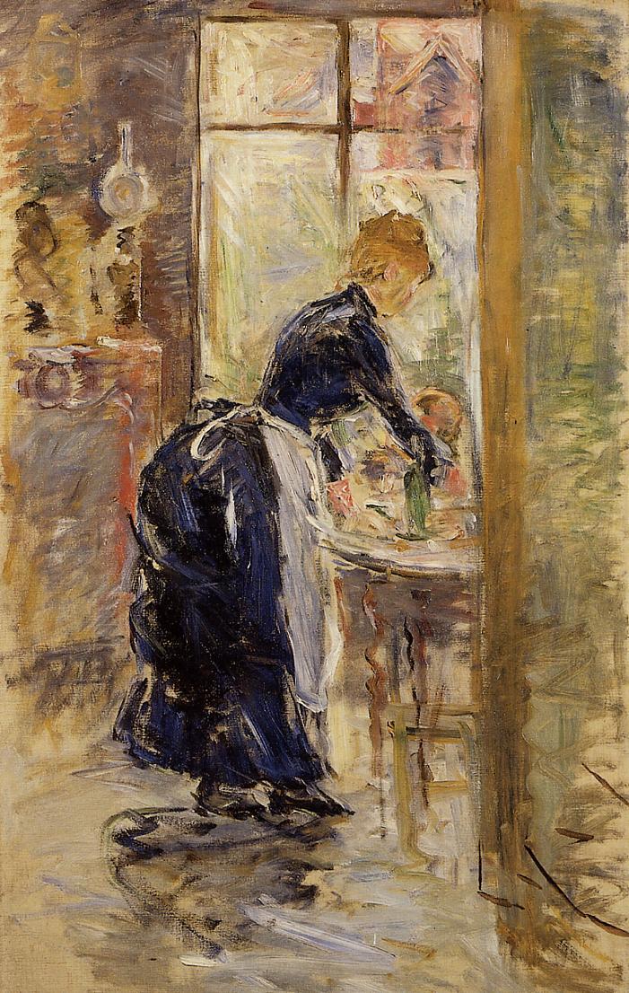 The Little Maid Servant 1886 | Berthe Morisot | Oil Painting