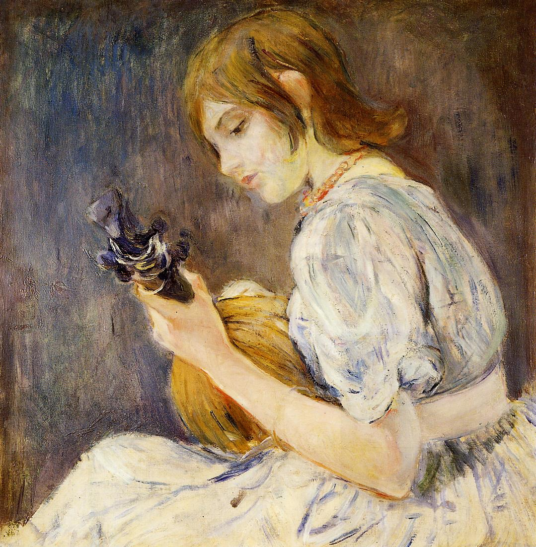 The Mandolin 1889 | Berthe Morisot | Oil Painting