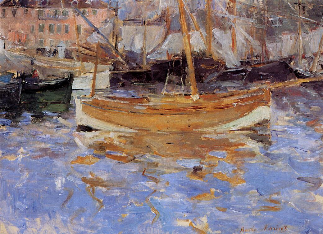 The Port of Nice 1882 | Berthe Morisot | Oil Painting