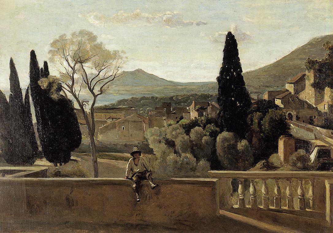 View of Tivoli (after Corot) 1863 | Berthe Morisot | Oil Painting