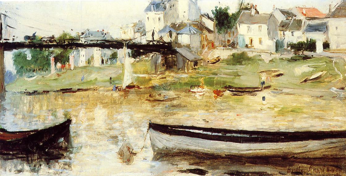 Villenueve-la-Garenne 1875 | Berthe Morisot | Oil Painting