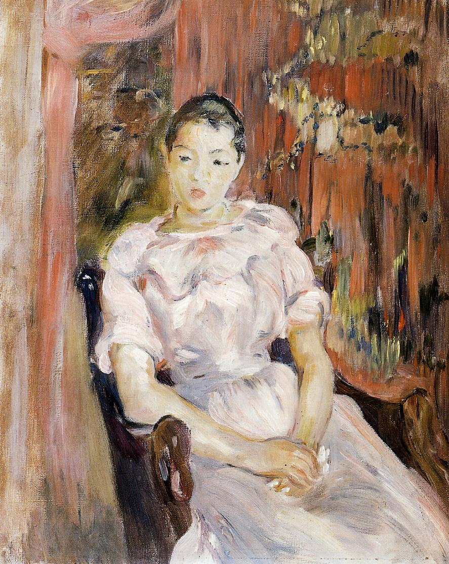 Young Girl Resting 1894 | Berthe Morisot | Oil Painting