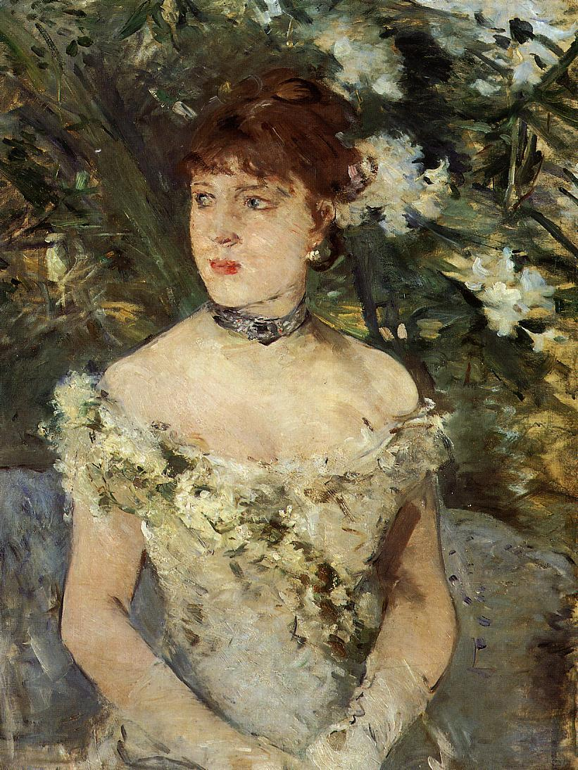 Young Woman Dressed for the Ball 1879 | Berthe Morisot | Oil Painting