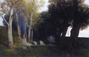 Sacred Grove | Arnold Bocklin | Oil Painting
